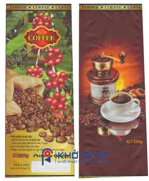 bao bì cà phê in sẵn