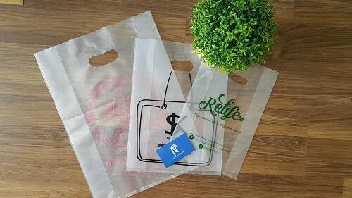 Túi nilong trong suốt đựng mỹ phẩm cao cấp