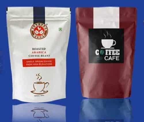 Túi zipper đựng cafe