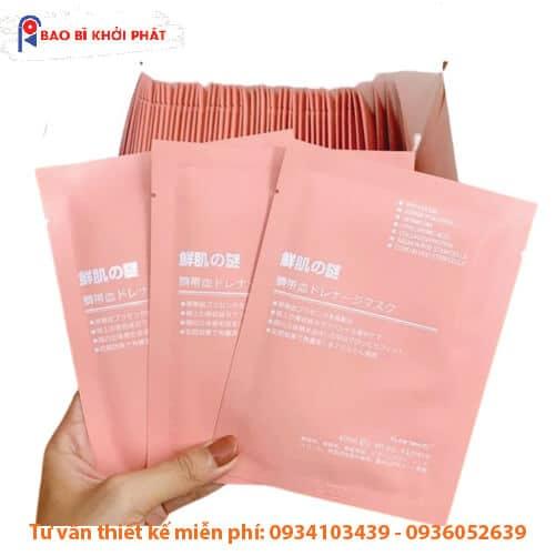 bao bì mặt nạ banobagi vita genic jelly mask mỹ phẩm