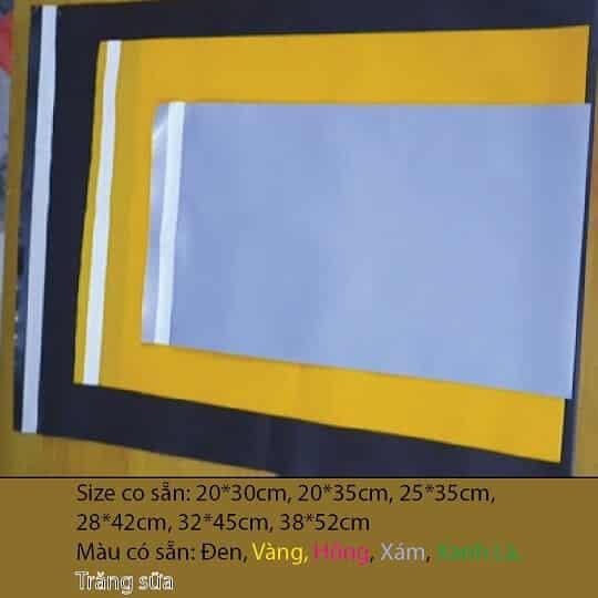 Kích thước màu sắc có sẵn của túi niêm phong