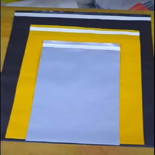 màu sắc túi nilong niêm phong ship quần áo