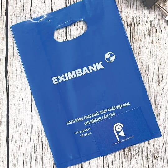 túi nilon ngân hàng eximbank