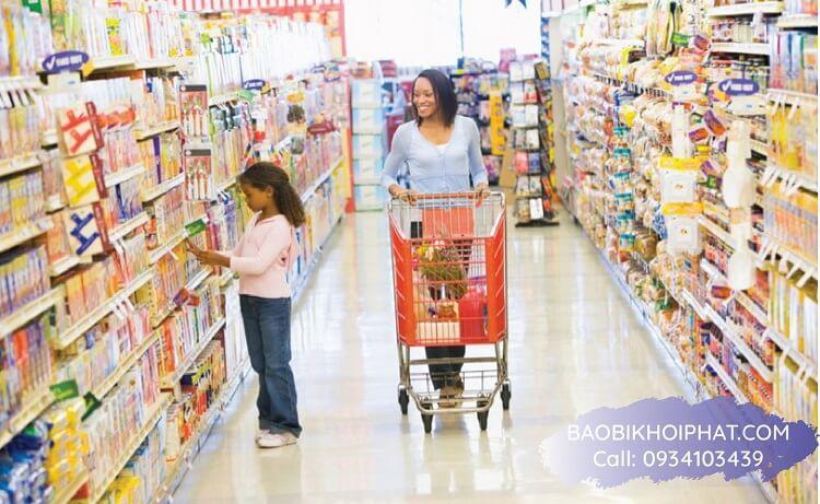 túi zipper gay chú ý cho trẻ em khi mua sắm