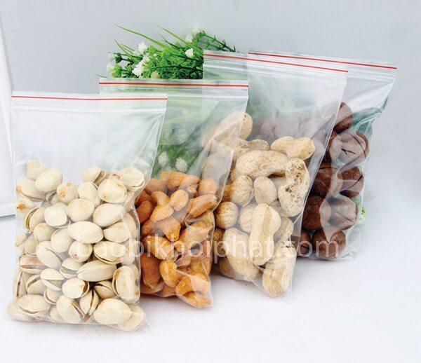 Túi Zip đựng thực phẩm các loại hạt