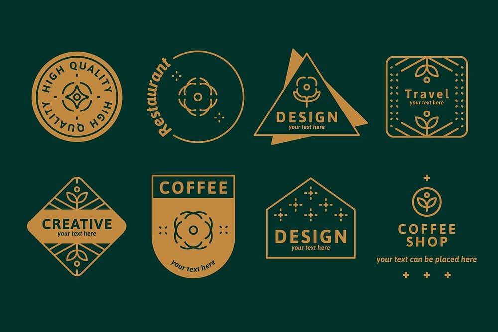 Bộ sưu tập huy hiệu cà phê