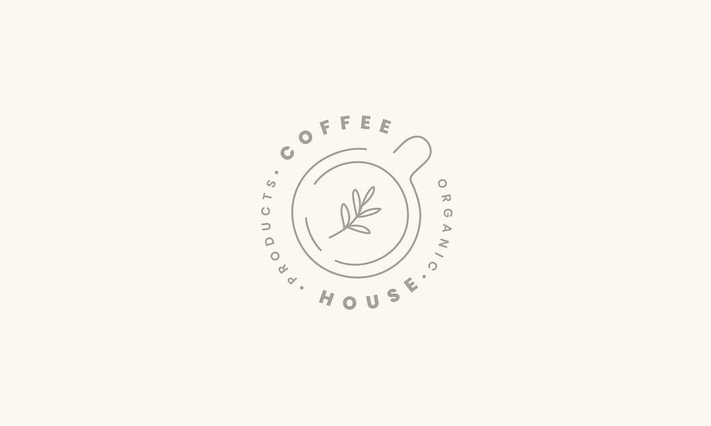 Logo Cà phê Phong cách hiện đại