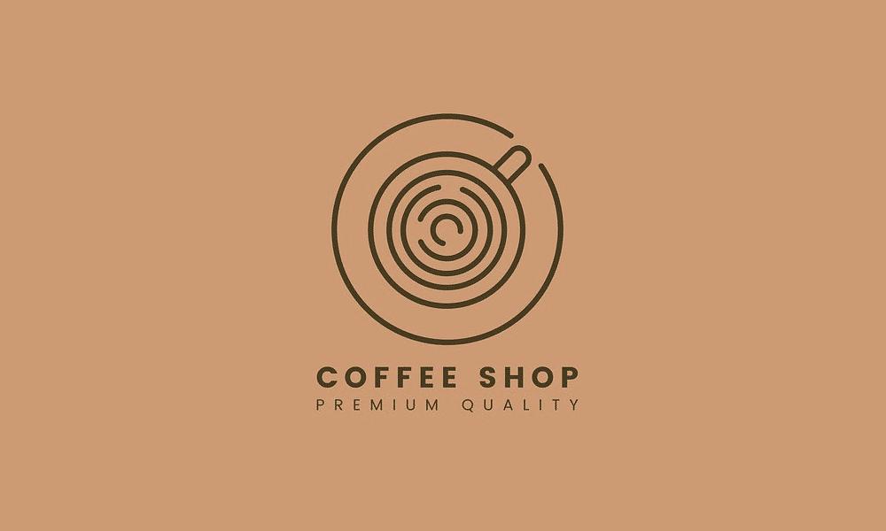 Logo thương hiệu cà phê