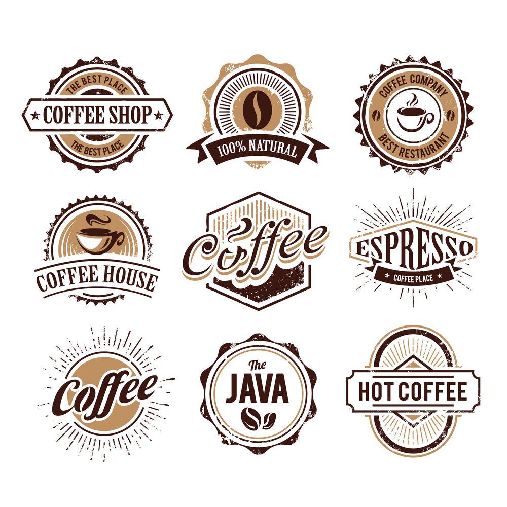 Tổng hợp Logo Coffee