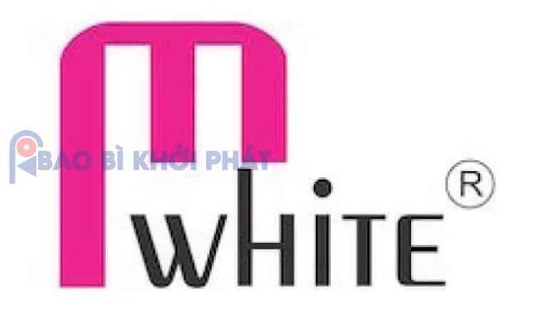 logo Mỹ Phẩm MWhite