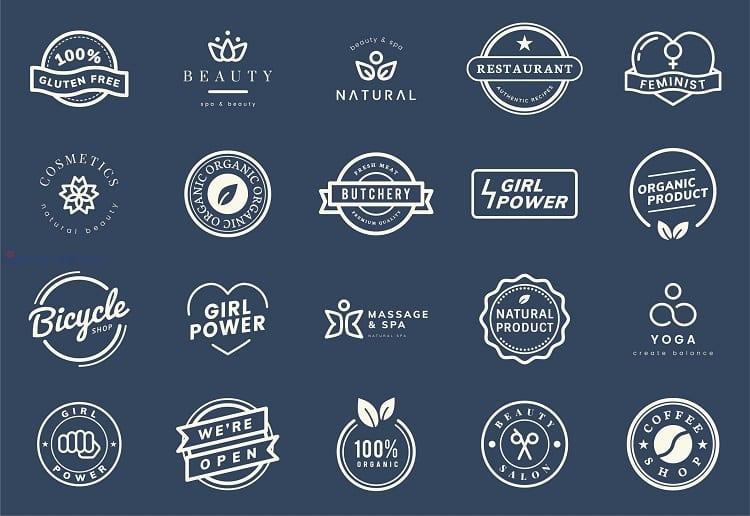 tổng hợp logo đẹp về mỹ phẩm