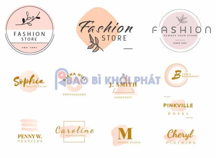 Logo Shop Thời Trang Miễn Phí Free Brush-02