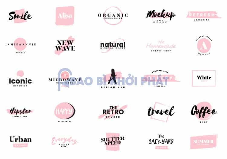 Tổng hợp 100+ Logo Shop Thời Trang Brush-01