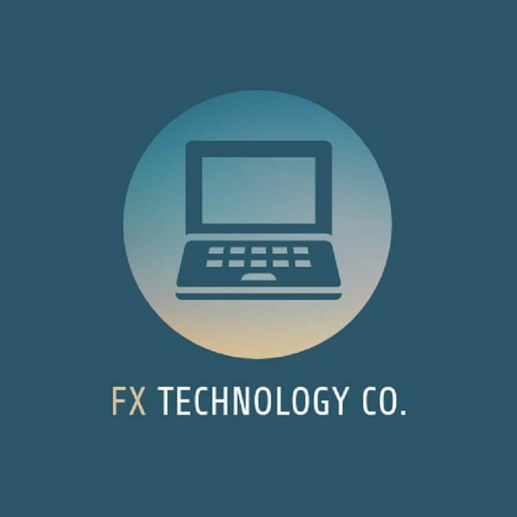 logo cửa hàng bán máy tính FX