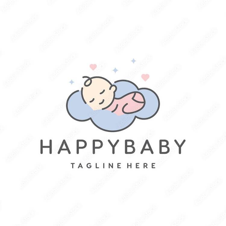 logo shop quần áo trẻ em